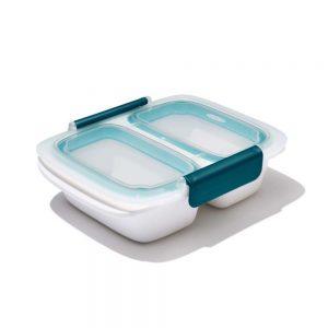OXO Lekvrije Lunchbox met 2 vakken 500 ml