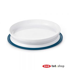 OXO-Stick-And-Stay-Bord-Met-Zuignap-Blauw
