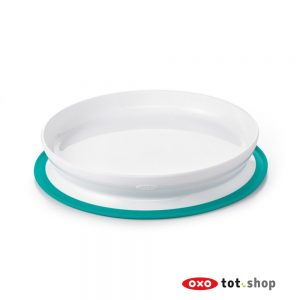 OXO-Stick-And-Stay-Bord-Met-Zuignap-Groen