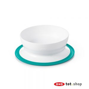 OXO-Stick-&-Stay-Kom-Met-Zuignap-Groen