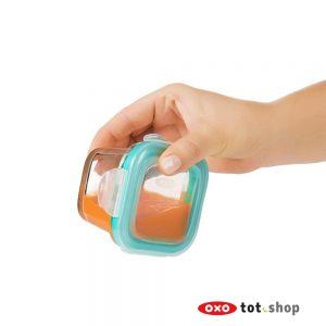 oxo babyvoedingbakjes glas 120ml